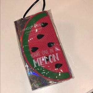 Other - Brand NEW Watermelon Makeup Brush Cleaning Pad